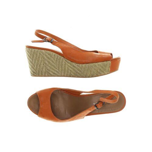 Apepazza Damen Sandale orange kein Etikett DE 38