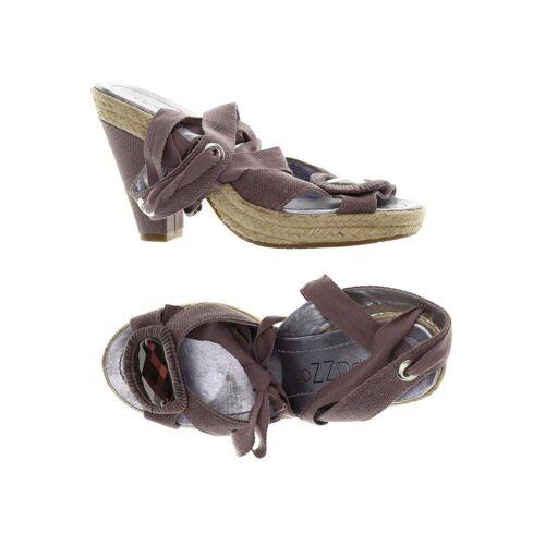 Apepazza Damen Sandale lila kein Etikett DE 38