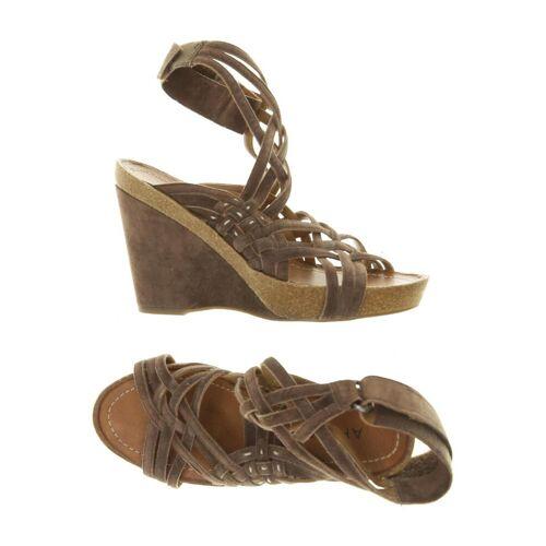 Apepazza Damen Sandale braun kein Etikett DE 38