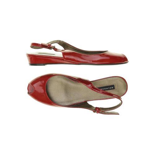 BELMONDO Damen Sandale rot kein Etikett DE 37