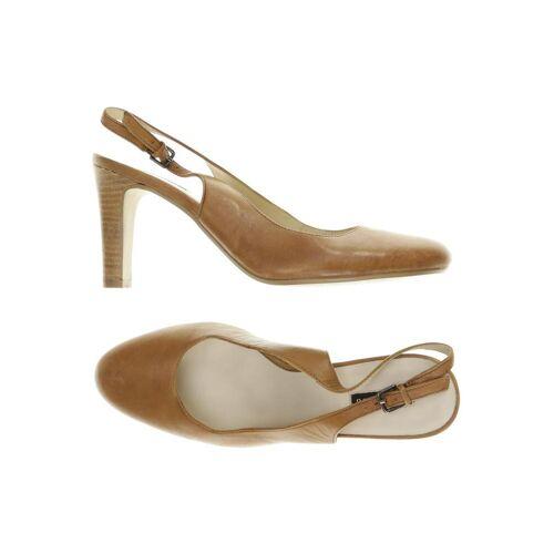 BELMONDO Damen Sandale braun Leder DE 40