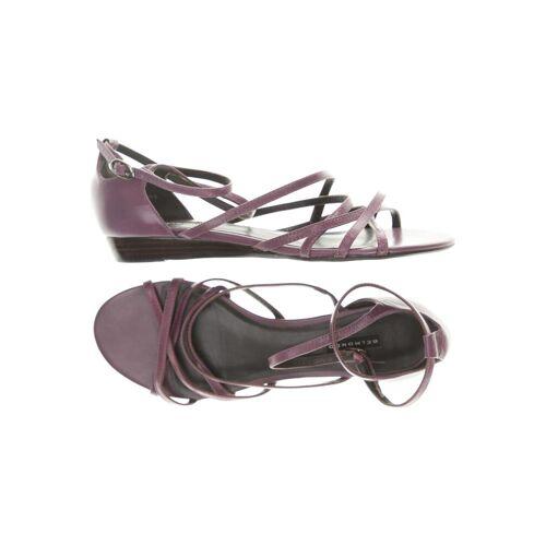 BELMONDO Damen Sandale lila Leder DE 39