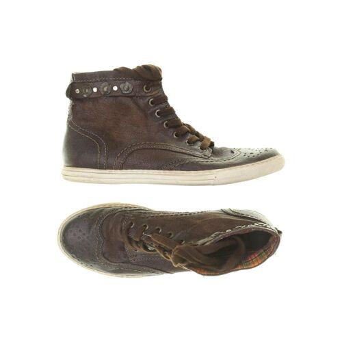 BELMONDO Damen Sneakers braun kein Etikett DE 39