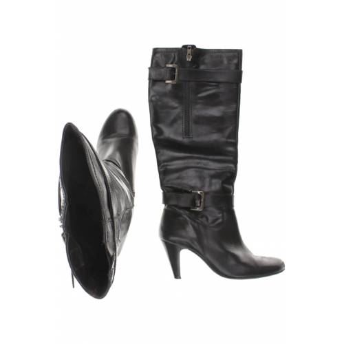 BELMONDO Damen Stiefel schwarz Leder DE 39