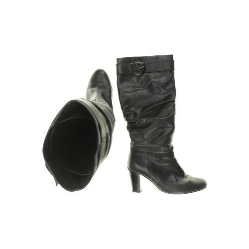 BELMONDO Damen Stiefel schwarz Leder DE 40