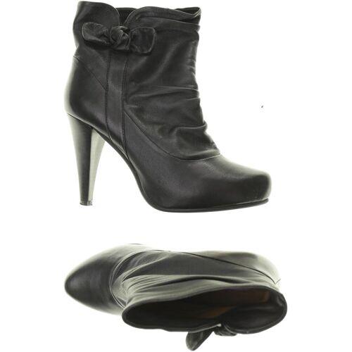 BELMONDO Damen Stiefel schwarz Leder DE 38