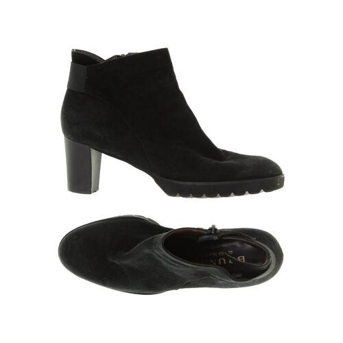 BRUNATE Damen Stiefelette schwarz Leder DE 38.5