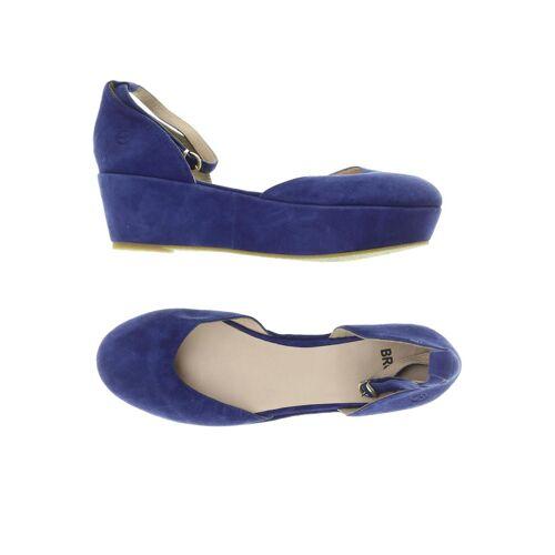 Bronx Damen Pumps blau Leder DE 39