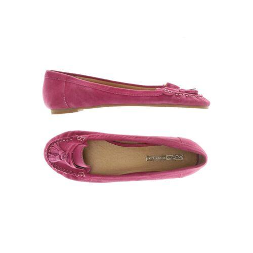 Buffalo Damen Halbschuh pink Leder DE 42