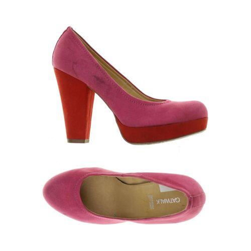 Catwalk Damen Pumps pink kein Etikett DE 38