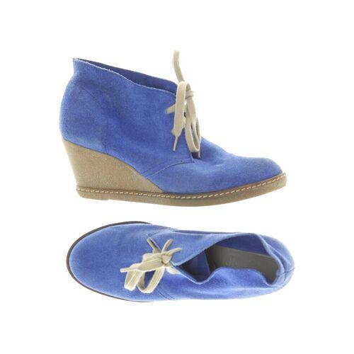 Catwalk Damen Stiefelette blau Leder DE 37