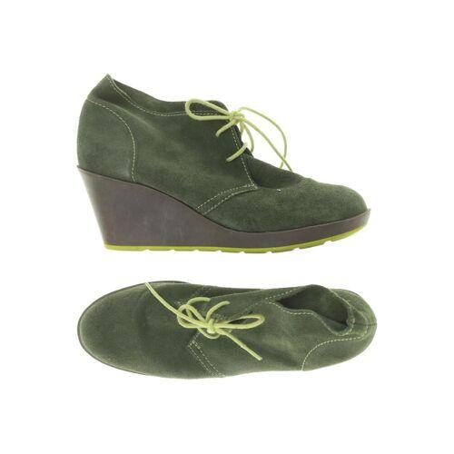 Catwalk Damen Stiefelette grün Leder DE 41