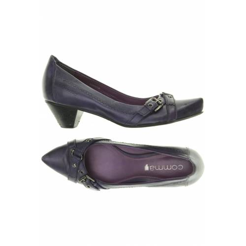 Comma Damen Pumps lila Leder DE 38