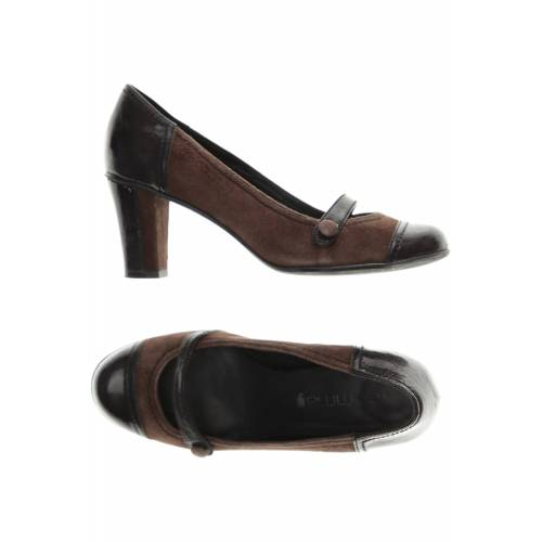 Comma Damen Pumps braun Leder DE 37