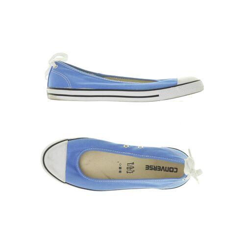 Converse Damen Ballerinas blau kein Etikett DE 39