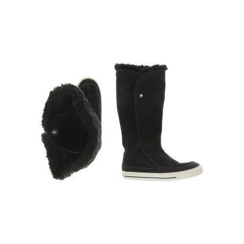 Converse Damen Stiefel schwarz Leder DE 37