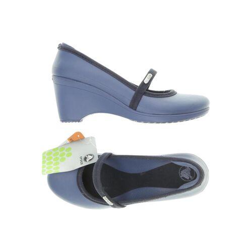 Crocs Damen Pumps blau kein Etikett US 7
