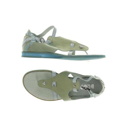DKODE Damen Sandale grün Leder DE 37