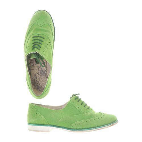 Deerberg Damen Halbschuh grün Leder DE 38
