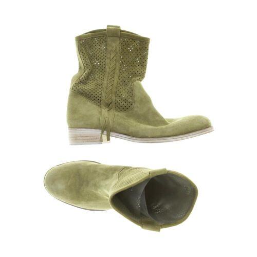 Deerberg Damen Stiefel grün Leder DE 38