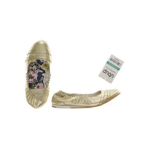 Diesel Damen Ballerinas gold DE 35