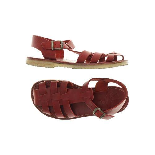 Duckfeet Damen Sandale rot kein Etikett DE 39