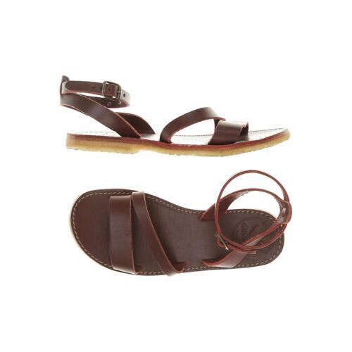 Duckfeet Damen Sandale rot kein Etikett DE 40