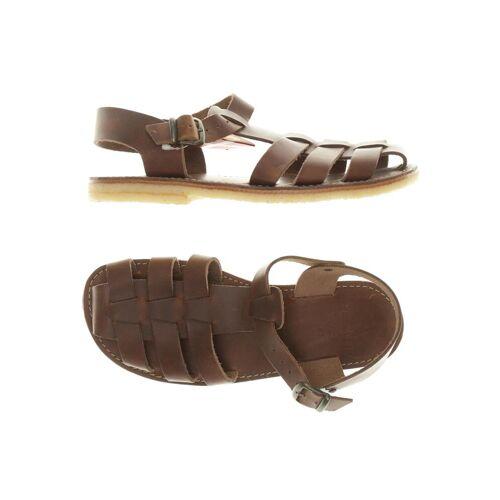Duckfeet Damen Sandale braun kein Etikett DE 41
