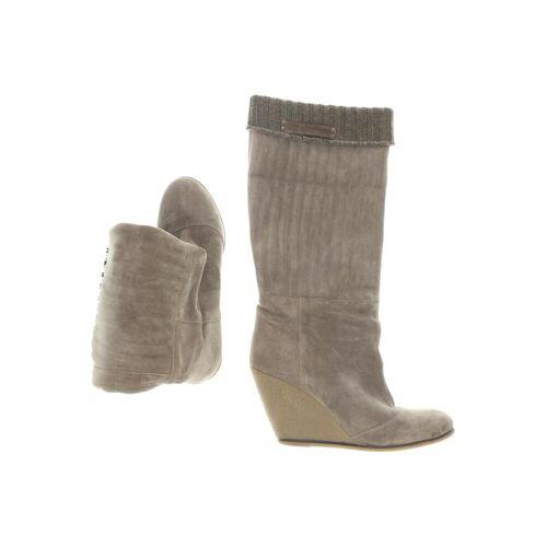 Fornarina Damen Stiefel grau kein Etikett DE 41
