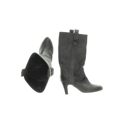 Fornarina Damen Stiefel grau kein Etikett DE 38