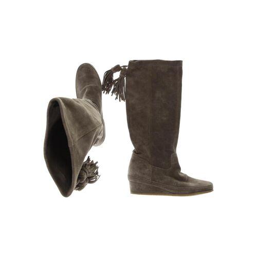 Fornarina Damen Stiefel grau Leder DE 41