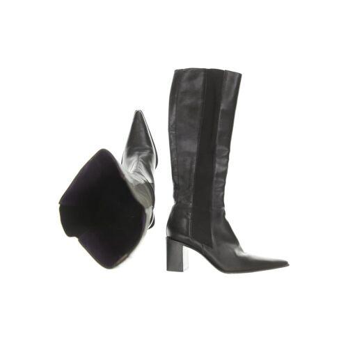 Freelance Damen Stiefel schwarz Leder DE 37.5