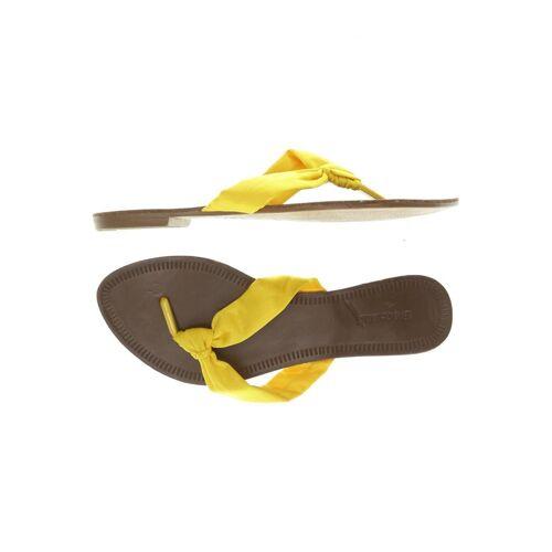 Graceland Damen Sandale gelb kein Etikett DE 36