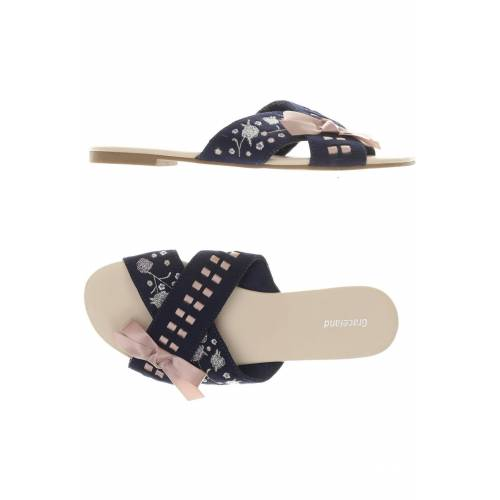 Graceland Damen Sandale blau kein Etikett DE 39