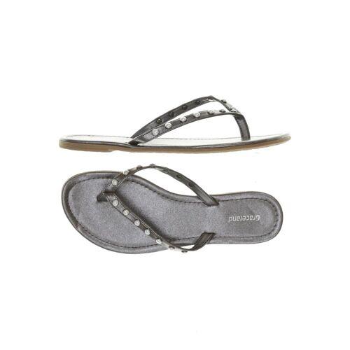 Graceland Damen Sandale grau kein Etikett DE 38