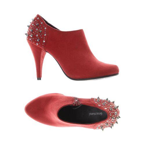 Graceland Damen Pumps rot kein Etikett DE 38