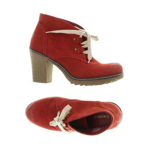 Graceland Damen Stiefelette rot kein Etikett DE 37