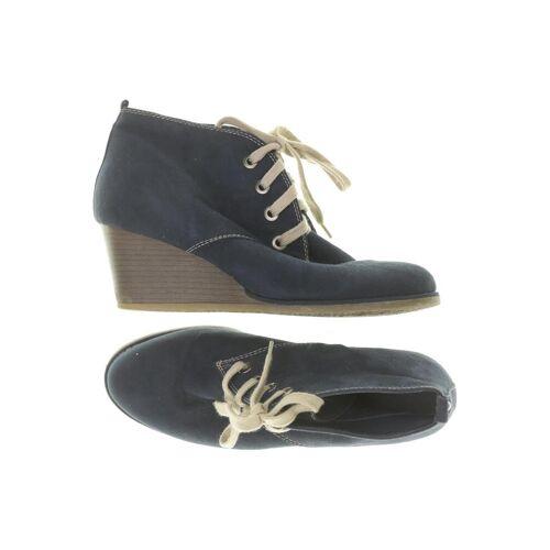 Graceland Damen Stiefelette blau kein Etikett DE 41