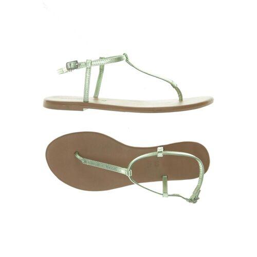 Hallhuber Damen Sandale grün Leder DE 39