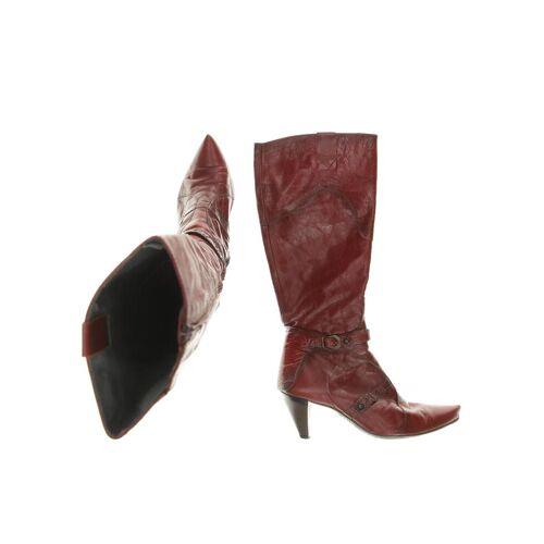 Hispanitas Damen Stiefel rot kein Etikett DE 37