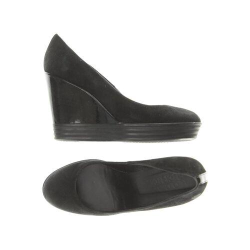 Hogan Damen Pumps schwarz Leder DE 37.5