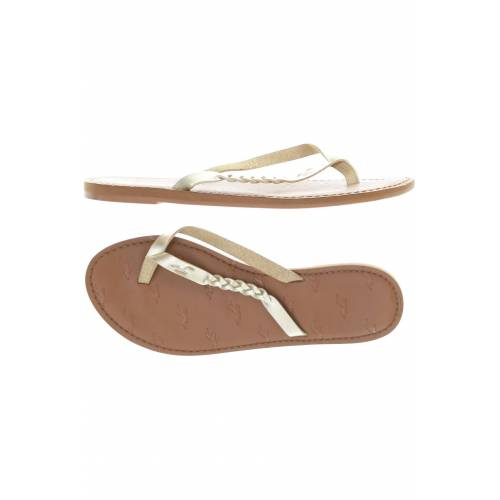 Hollister Damen Sandale beige kein Etikett UK 9