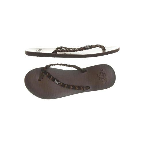 Hollister Damen Sandale braun kein Etikett DE 37.5