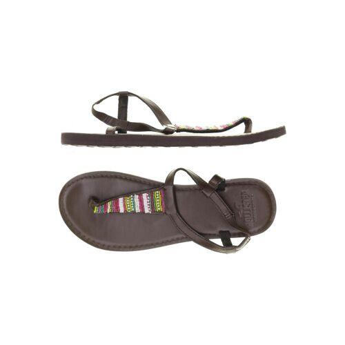 Hollister Damen Sandale braun kein Etikett DE 36