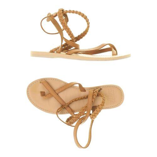 Hollister Damen Sandale braun kein Etikett DE 37