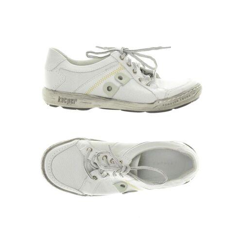 Kacper Damen Sneakers weiß Leder DE 36