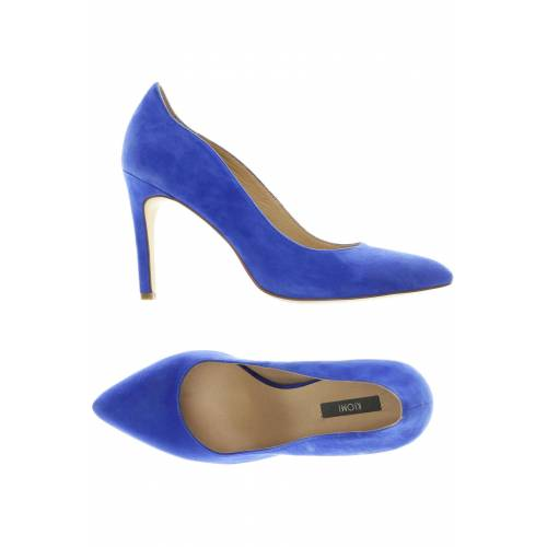 Kiomi Damen Pumps blau Leder DE 39