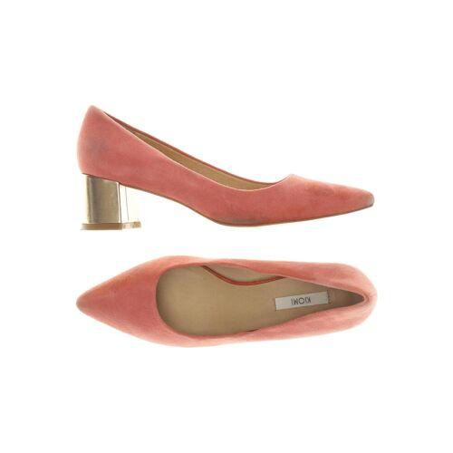 Kiomi Damen Pumps pink Leder DE 37