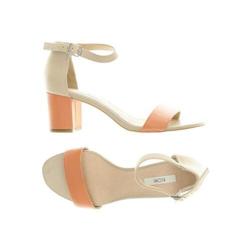 Kiomi Damen Sandale orange Leder DE 36