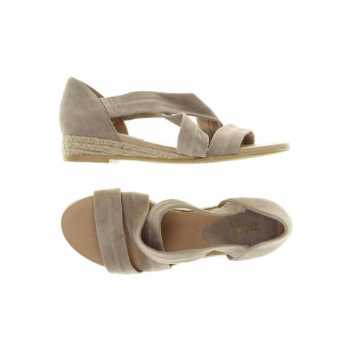 Kiomi Damen Sandale beige Leder DE 36
